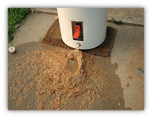 Water Heater with Sediment