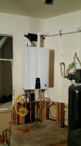 Tankless Water heater installation - Las Vegas Plumbers