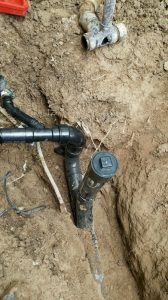Sewer line Repair completed