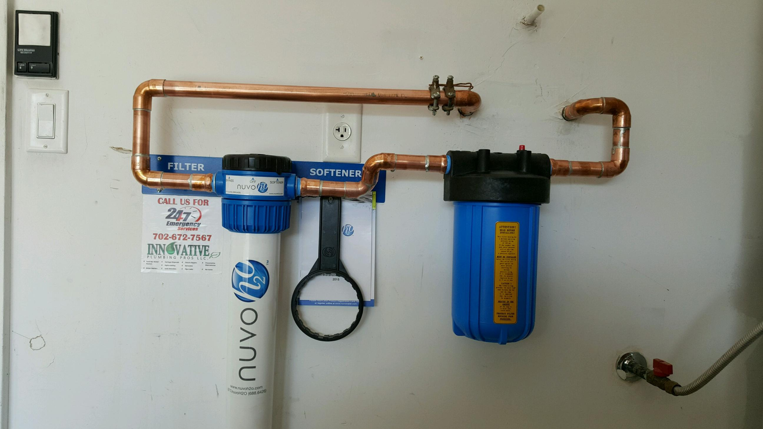 How To Hook Up A Water Softener Water Softeners Installed By Our Plumber Innovative Plumbing Pros